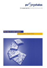 PV Crystalox Annual Report 2008