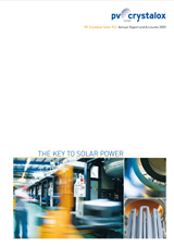 PV Crystalox Annual Report 2009