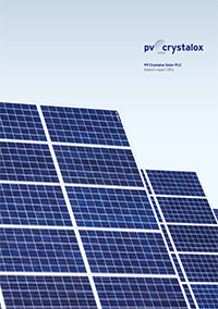 PV Crystalox Annual Report 2015