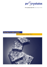 PV Crystalox Interim Report 2008